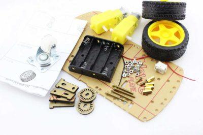 2WD Roboter Arduino Teile