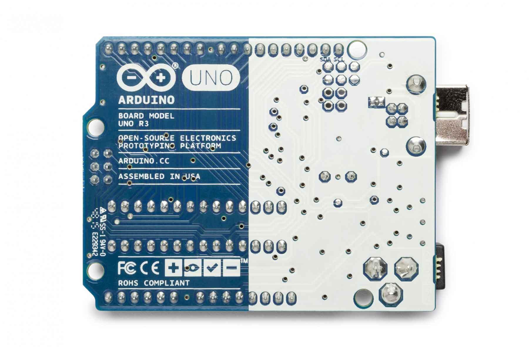 Back Arduino Uno
