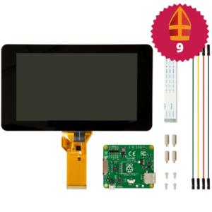 Raspberry Pi 7 inch touchscreen display sinterklaas top 10