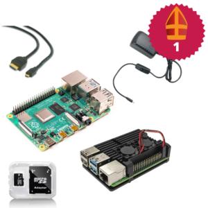 Raspberry Pi starter kit met heatsink case sinterklaas top 10