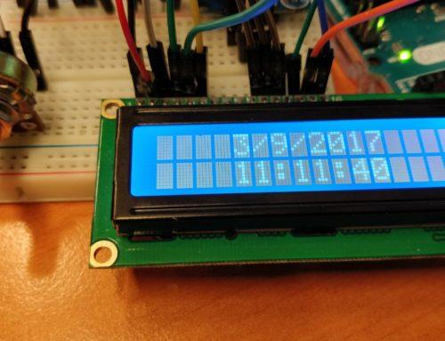 Arduino klok