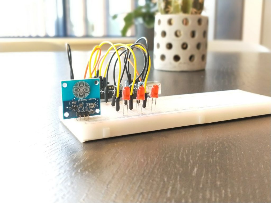 Touch Lamp Arduino Build