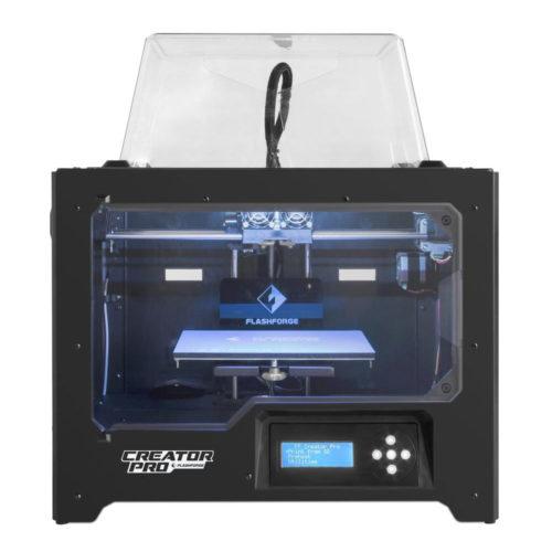 Flashforge creator pro dual head 3d printer