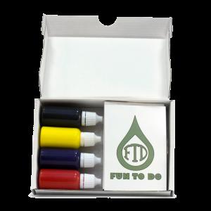 Pigment set FTD resin