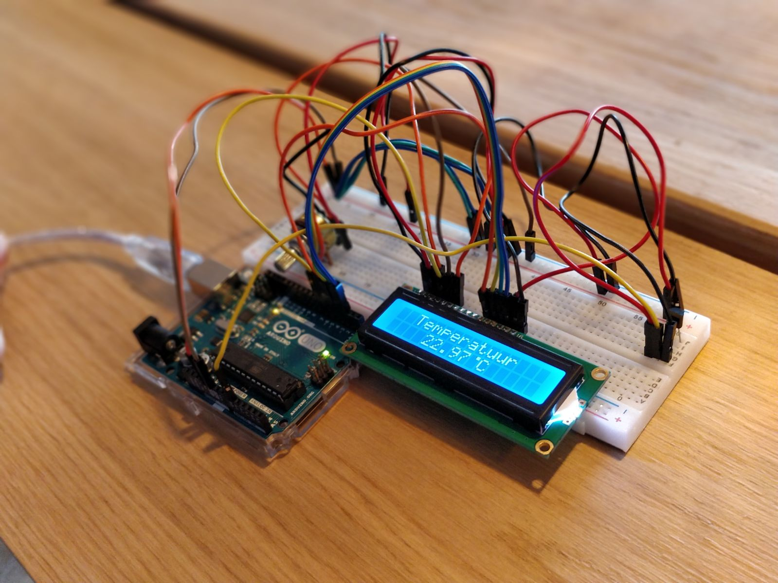 Arduino thermometer project