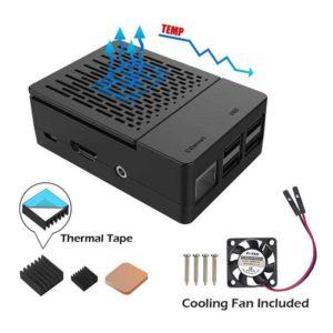 Raspberry Pi 3B+ behuizing met fan