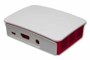 Raspberry Pi 3B+ behuizing Rood Wit