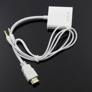 HDMI to VGA Audio Adapter