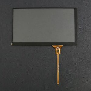"7"" Capacitive Touch Panel Overlay voor LattePanda IPS Display"