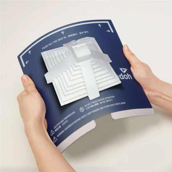 Sindoh flexible plate