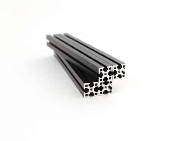 Makerbeam 300 mm black
