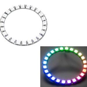 RGB LED Ring 24 LEDs - like Neopixel