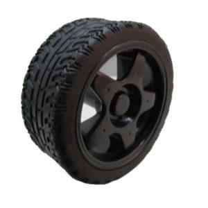 65 mm wiel zwart