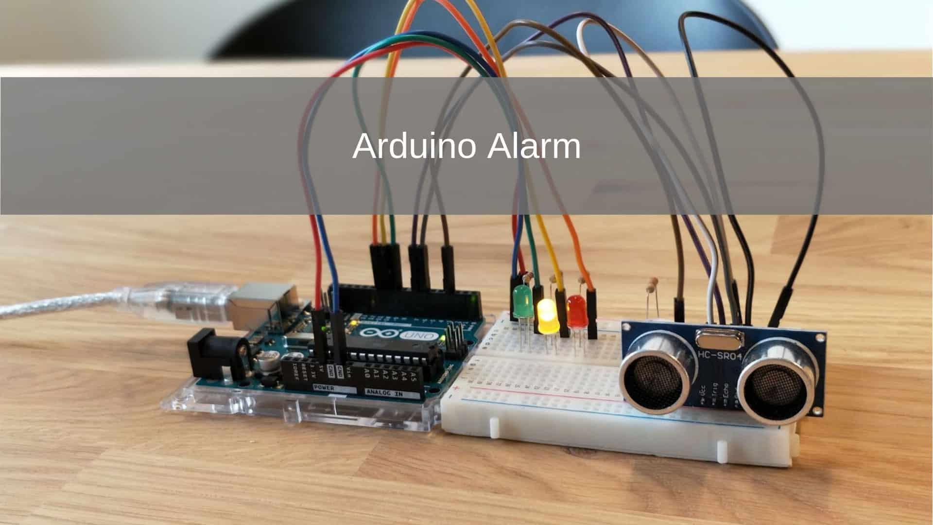 Arduino Alarm project
