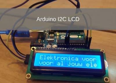 Arduino I2C LCD-Projekt