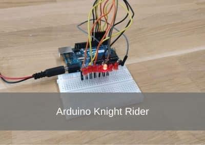 Arduino Knight Rider Projekt