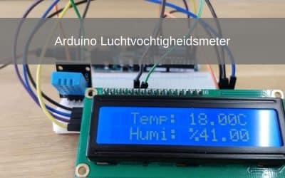Arduino project: Luchtvochtigheidsmeter