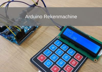 Arduino Rekenmachine Project