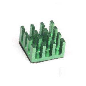 Green Heatsink for Raspberry Pi