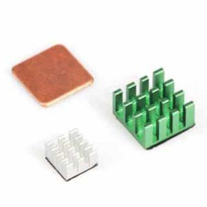 Heatsink set groen voor Raspberry Pi