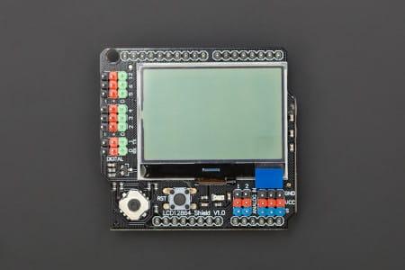 LCD12864 Shield DFrobot