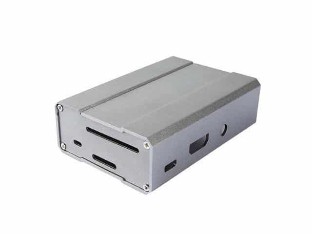 Raspberry Pi 3 Behuizing Silver