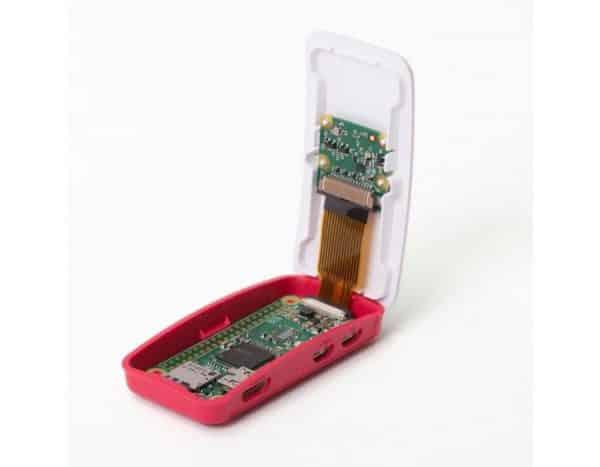 Raspberry Pi zero behuizing open