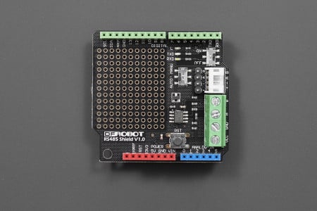 RS485 Arduino shield By DFRobot