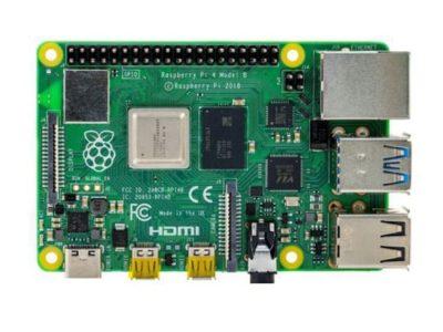 Front Raspberry Pi 4B