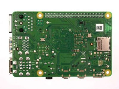 Back Raspberry Pi 4 Model B