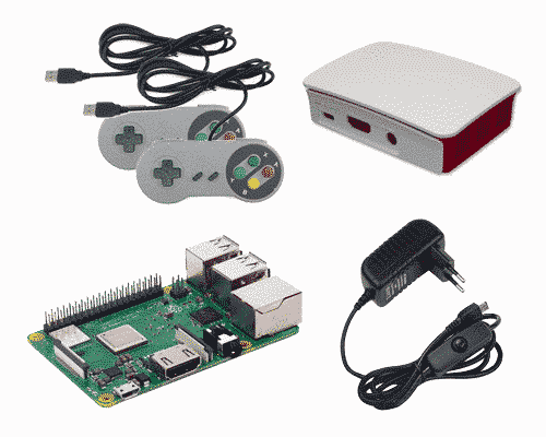 Raspberry Pi 3B+ RetroPie starter Kit