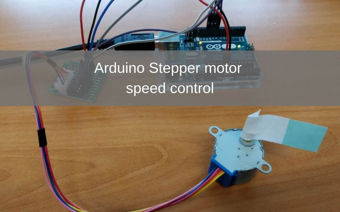 Arduino Project: Stepper motor speed control