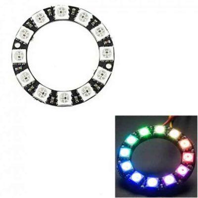 Anneau LED RVB 12 LED - Comme Neopixel
