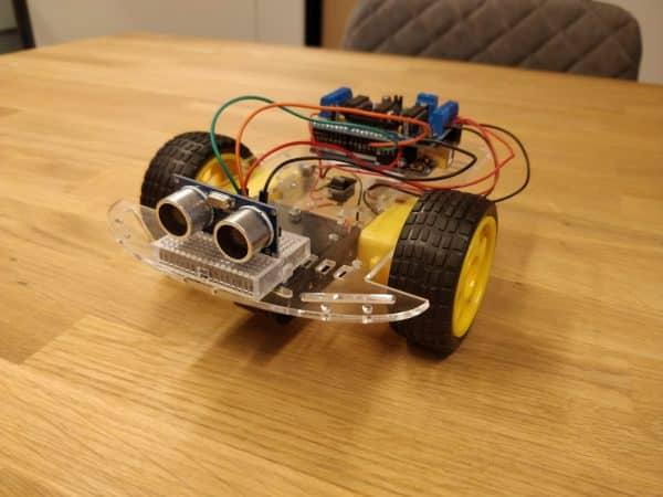 Arduino Autonome Robot Kit Fritzing Sensor