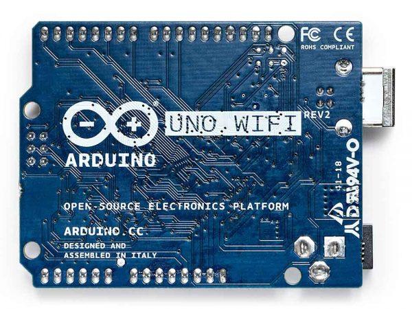 Uno wifi Back