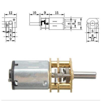 Getriebemotor 12V
