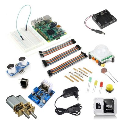 Raspberry pi physical computing kit