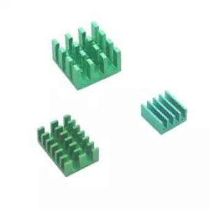 4B heatsink set groen