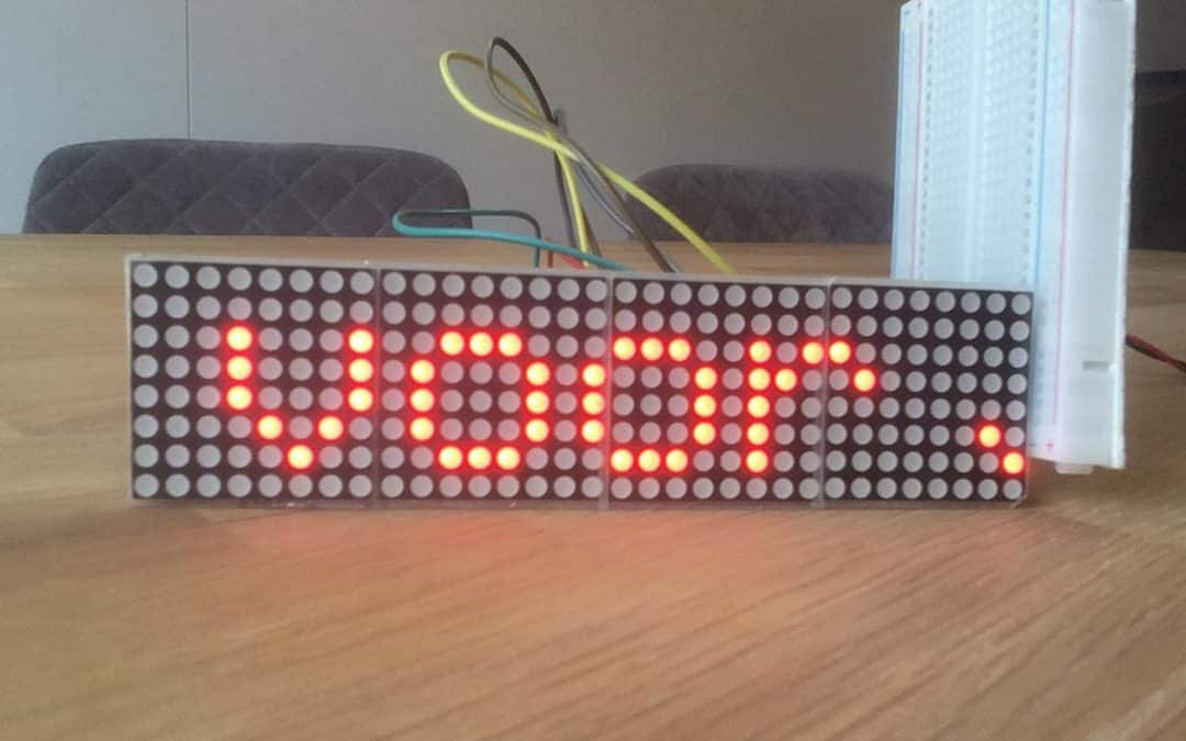 Arduino Project: LED lichtkrant