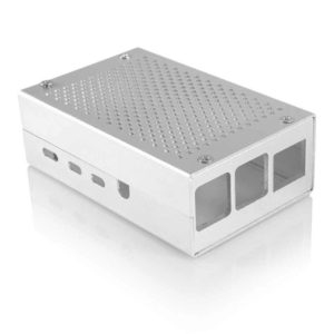 RPI4B silver case