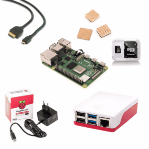 Kit de démarrage Raspberry Pi 4