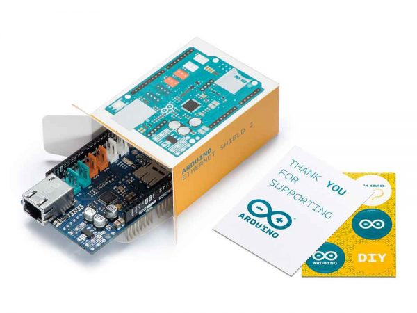 Arduino ethernet shield doosje