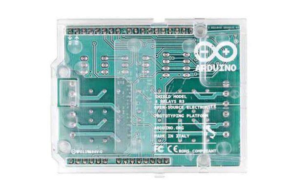 Arduino relais shield achterkant
