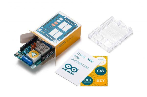 Arduino relais shield unboxing