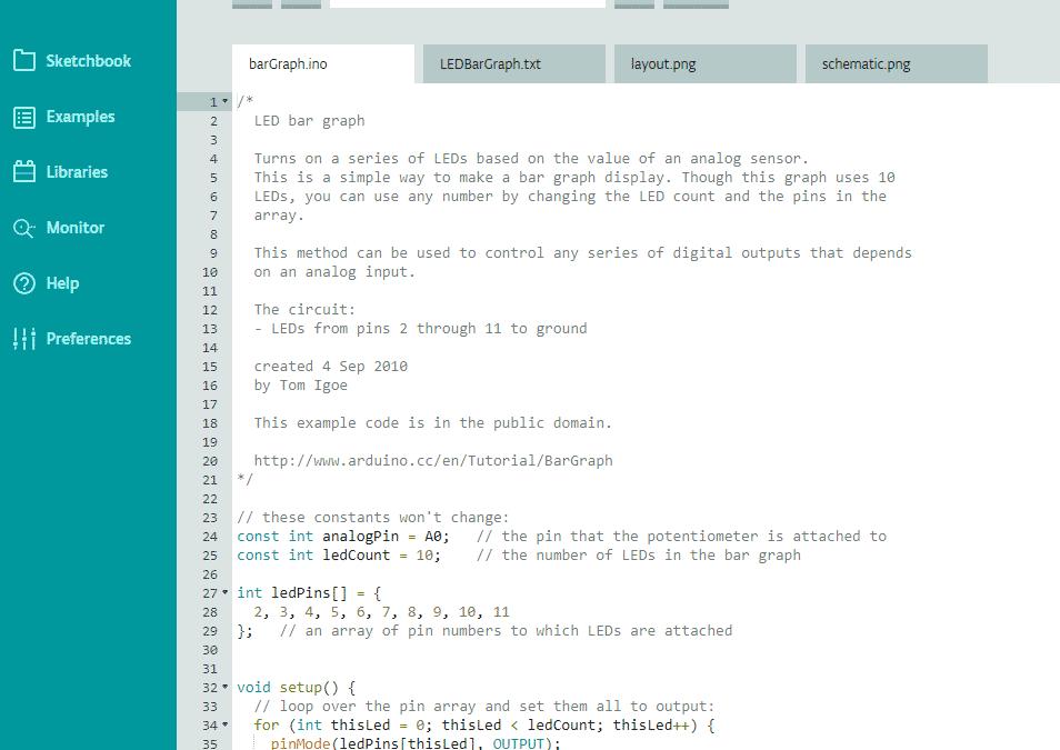 Arduino IDE – Programmeer software