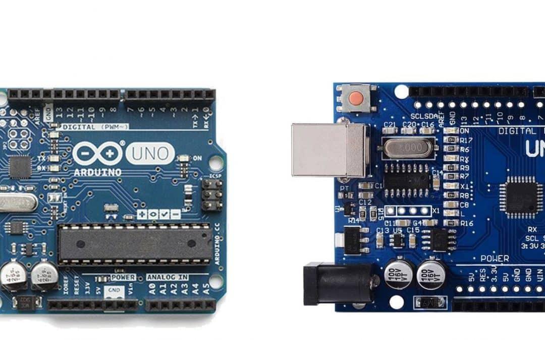 Originele Arduino VS Clone