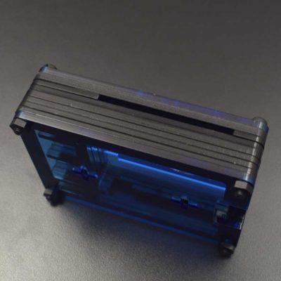 RPI 4 Acrylic housing blue