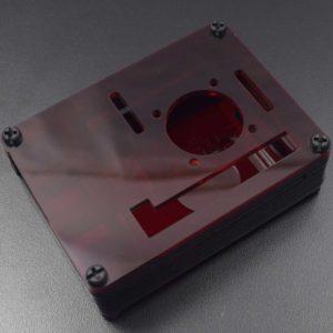 RPI 4 Acryl behuizing rood