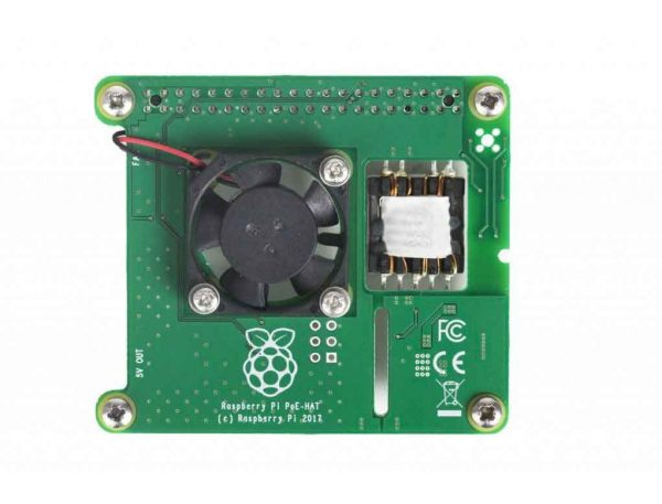Power over Ethernet HAT Raspberry Pi