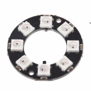 8 Bit RGB LED Ring voorkant